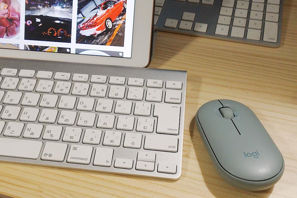 Mac2台とiPad用にマウスを新調、すべてロジクールのBluetoothマウスで。